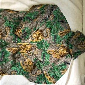 Gucci bangle tiger jacket